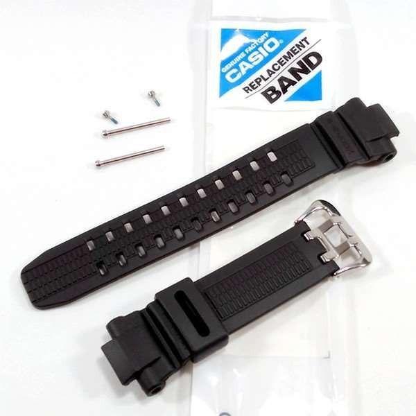 Pulseira Casio G-shock + Par de Parafusos fixação  G-1000 G-1010 G-1100 G-1500 G-1200 G-1250 Gw-2500 Gw-2000 Gw-3000 Gw-3500  - E-Presentes
