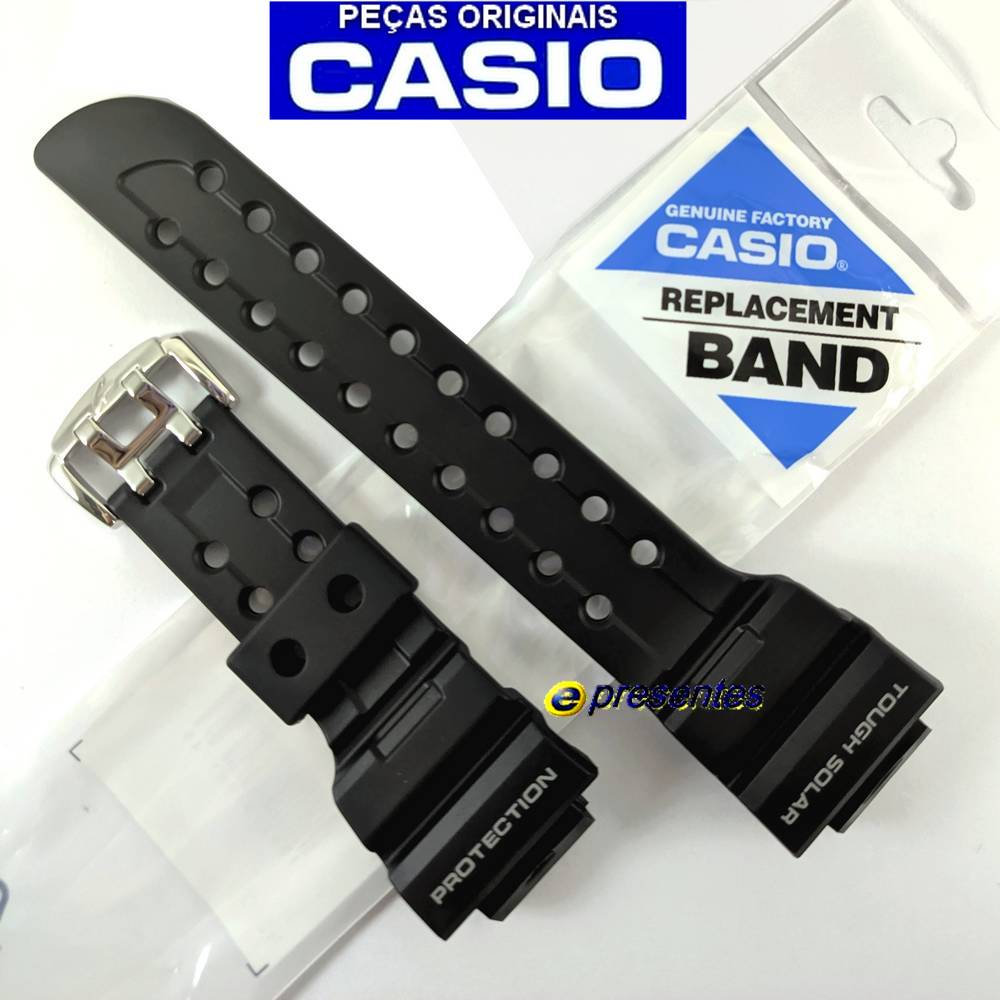 Pulseira Casio G-Shock Preta GF-1000-1, GWF-1000-1  - E-Presentes