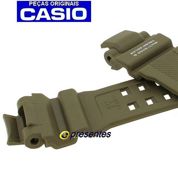 Pulseira Casio G-shock Resina VERDE GW-A1100KH-3A * 100% autentica  - E-Presentes