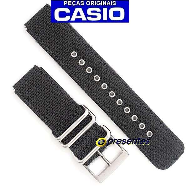 Pulseira Casio G-shock  TECIDO PRETO GA-100bbn-1a  - Alexandre Venturini