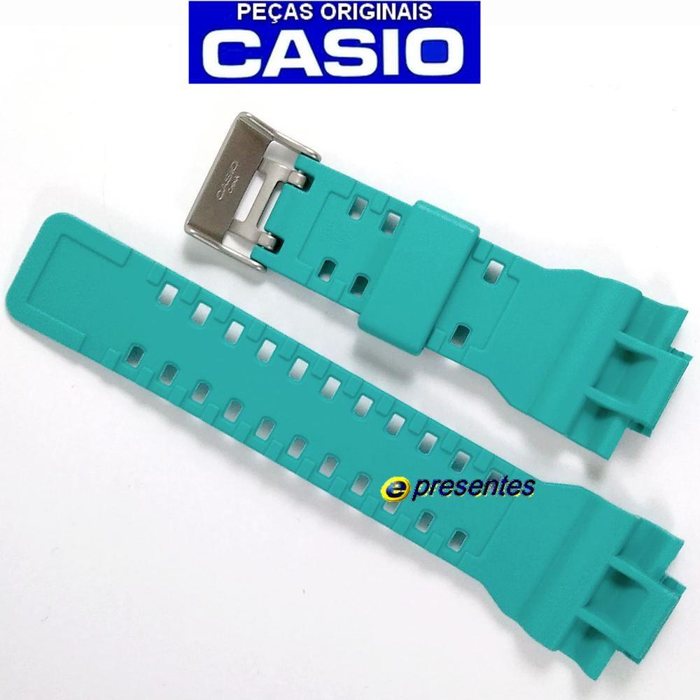 Pulseira Casio G-shock Verde Esmeralda GA-110SN-3A   - E-Presentes