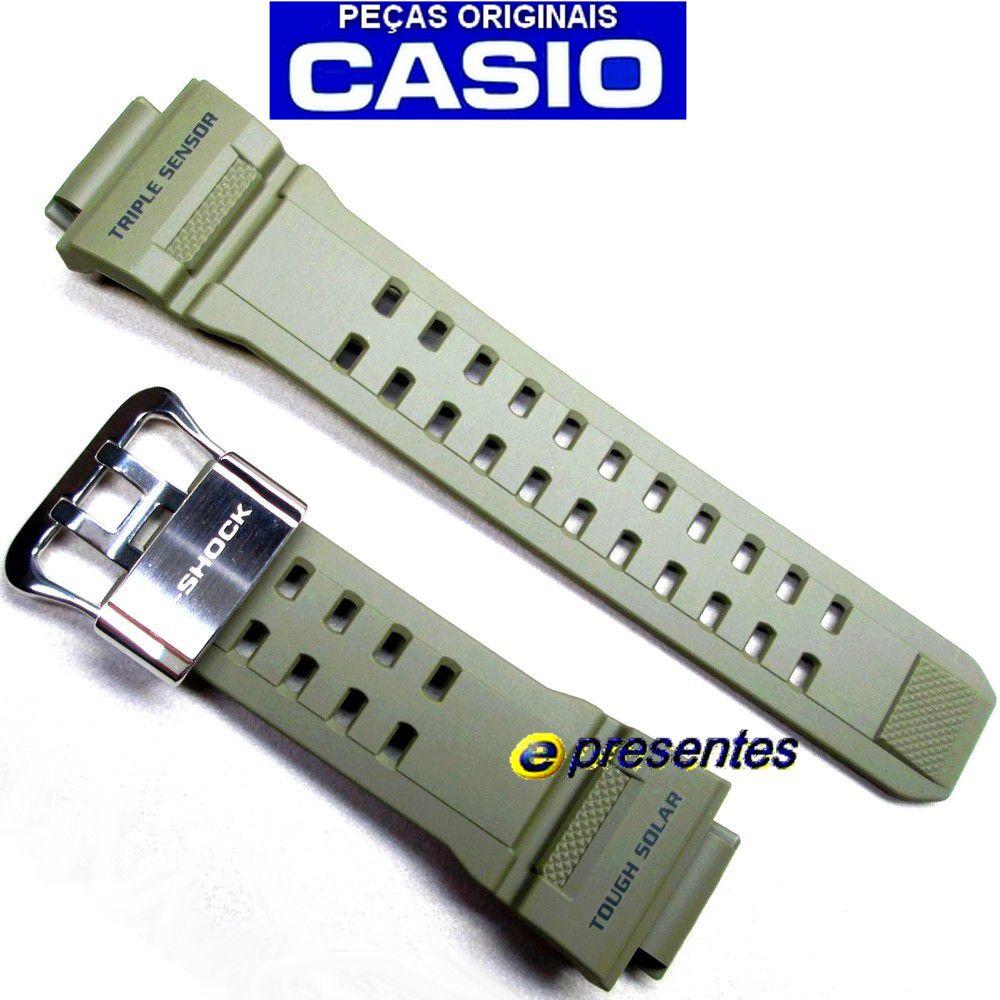 Pulseira Casio G-shock Verde Gw-9400-3 - 100% Original  - E-Presentes