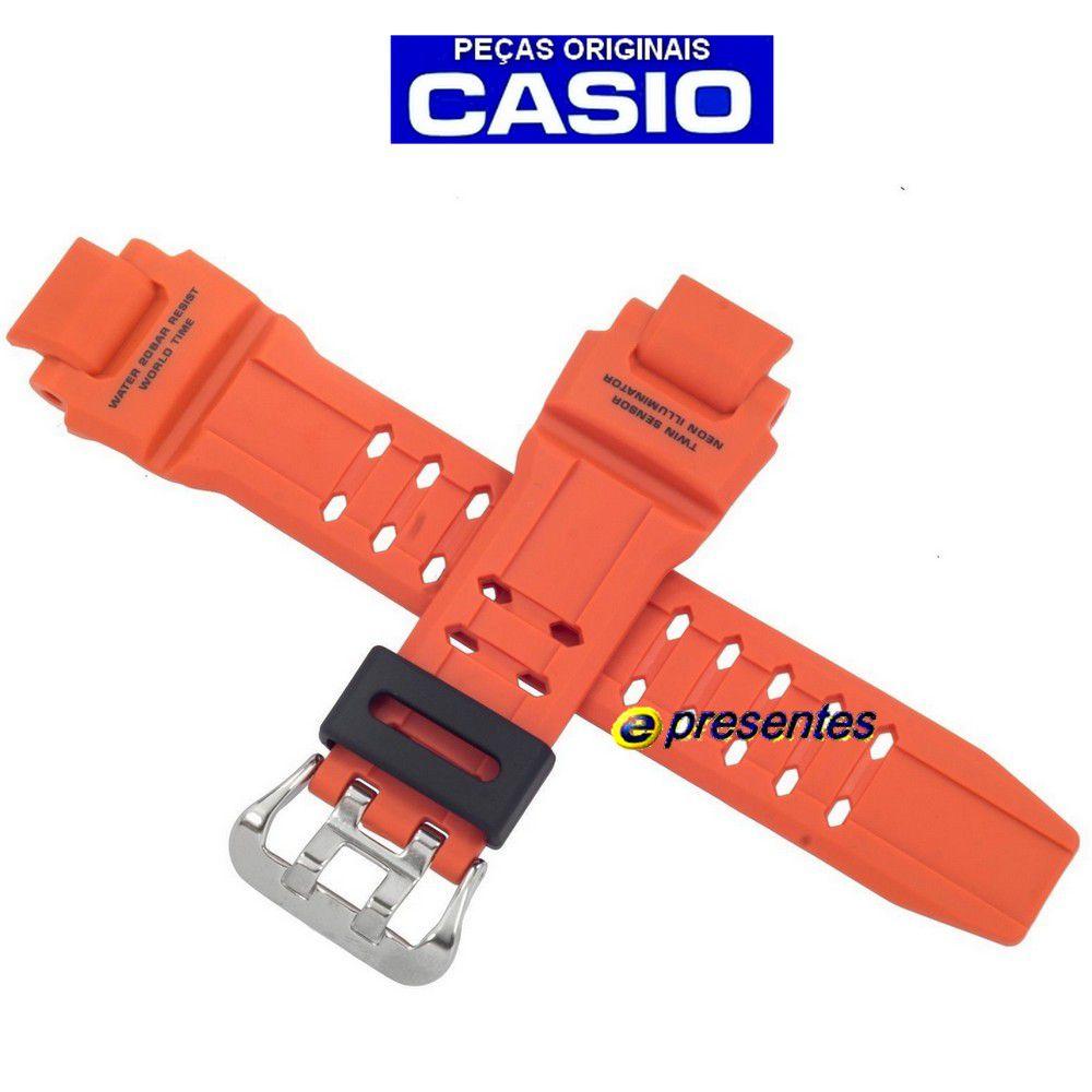 Pulseira Casio Ga-1000-4a G-Shock Cor Laranja - 100% autentica  - E-Presentes