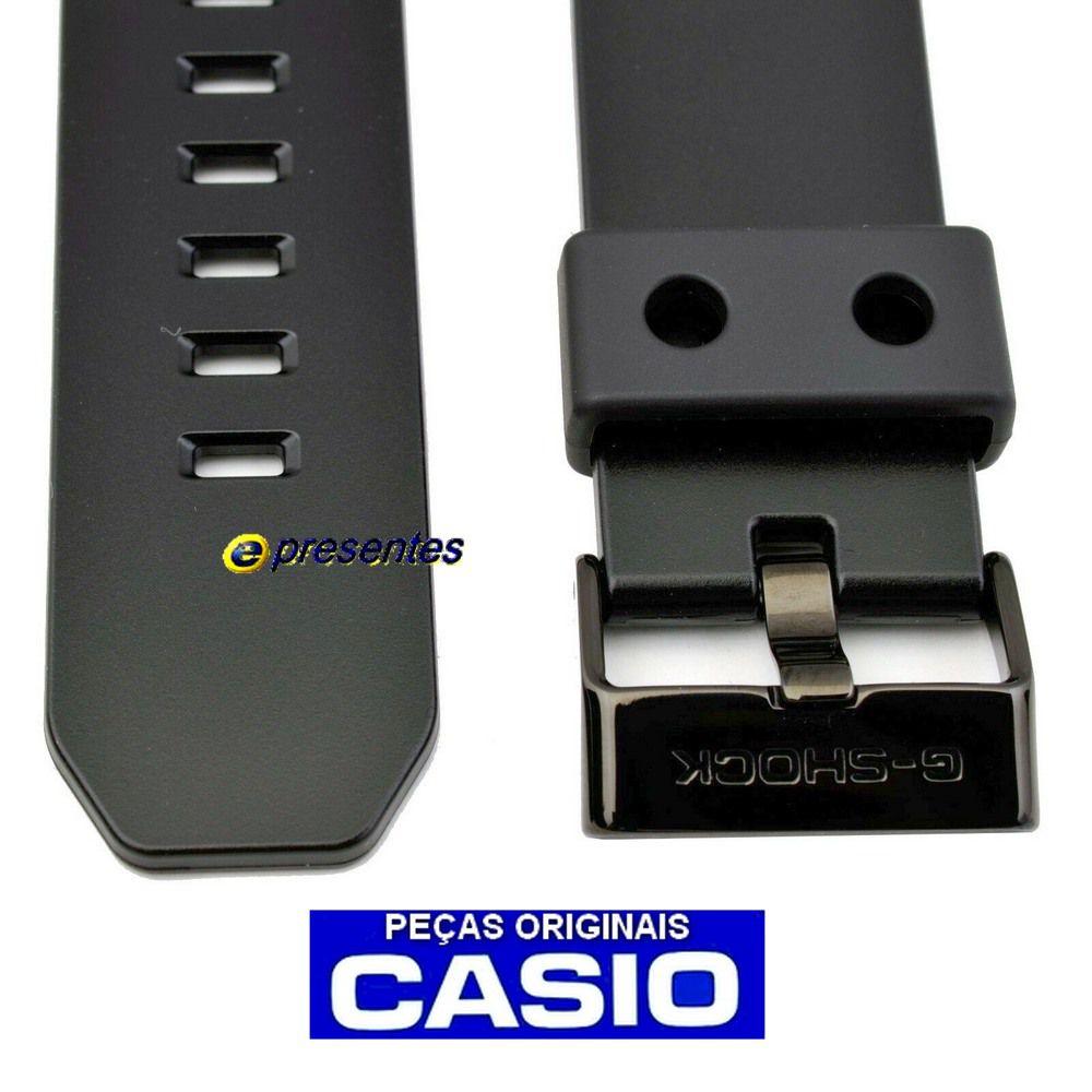Pulseira Casio Gd-x6900-1 G-shock Preto Brilhante - Peça Original  - E-Presentes