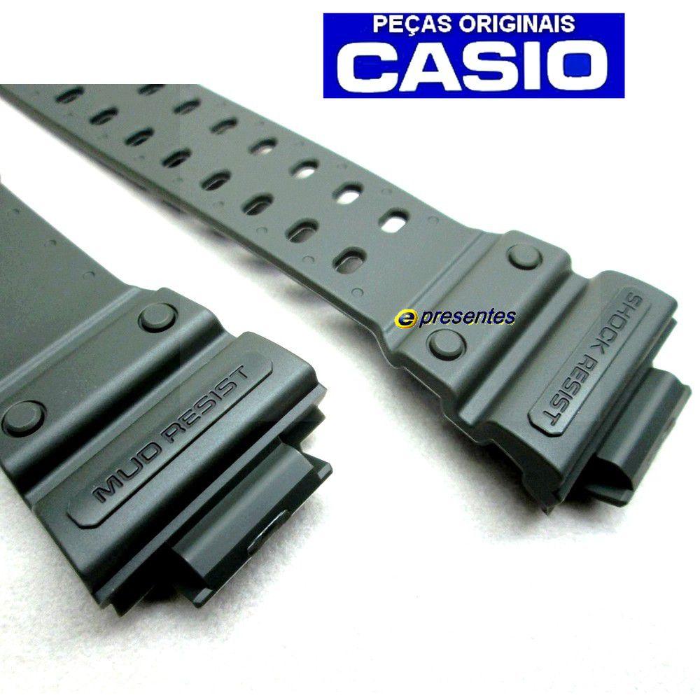Pulseira Casio GX-56KG-3 / GWX-56KG-3 G-shock Verde Militar Fosco*  - E-Presentes