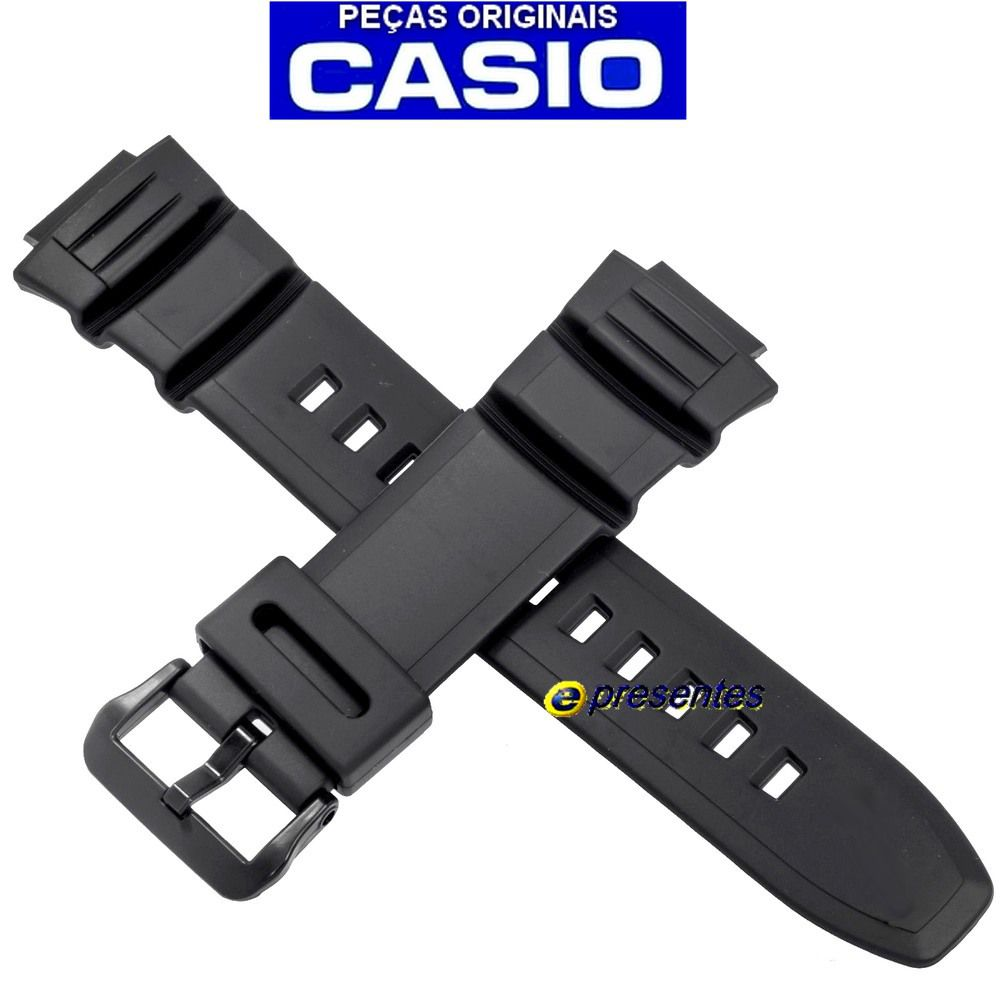 Pulseira Casio HDD-S100-1AV, W-S220-1AV, W-S220-9AV -100% autentica  - E-Presentes
