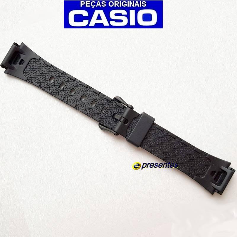 Pulseira Casio LW-S200H Resina Preta 100% Original *  - E-Presentes