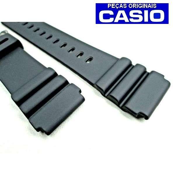 Pulseira Casio Marine Gear 22mm AQ-600CW WVQ-142 AMW-320C AMW-330 AMW-360 MMA-200 MD-703 DW-3000 MTD1009 MTD-1065B  MTD-1066  (26/22MM)   - E-Presentes