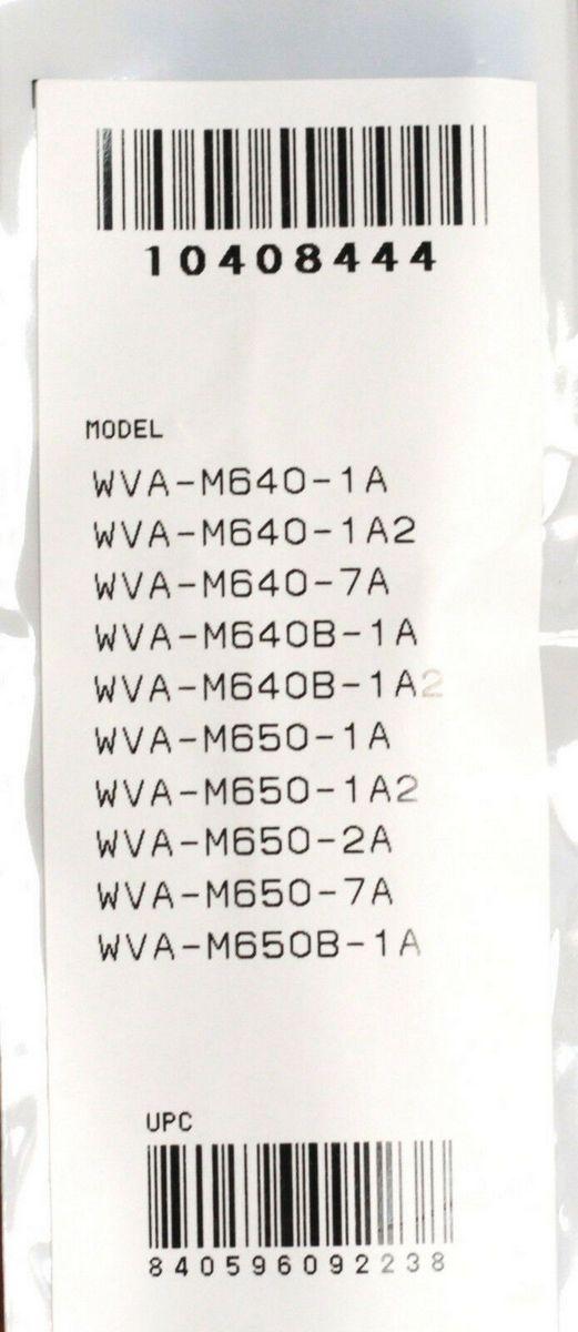 Pulseira Casio Original  WVA-M640    WVA-M650     WVQ-M410 Resina Preta  - E-Presentes