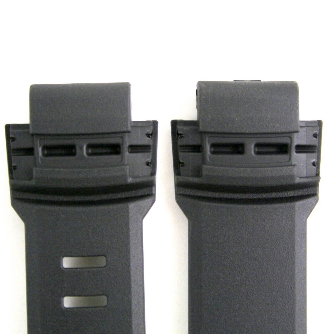 Pulseira Casio PathFinder PAW-5000 Resina Preta (18/27mm)  - E-Presentes