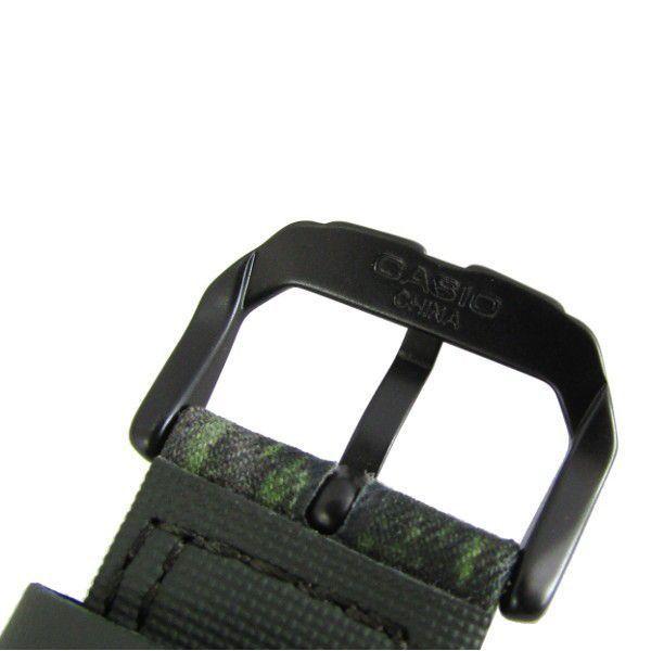 Pulseira Casio Protrek PRG-250 PRW-2500 Tecido e Couro Verde *  - E-Presentes