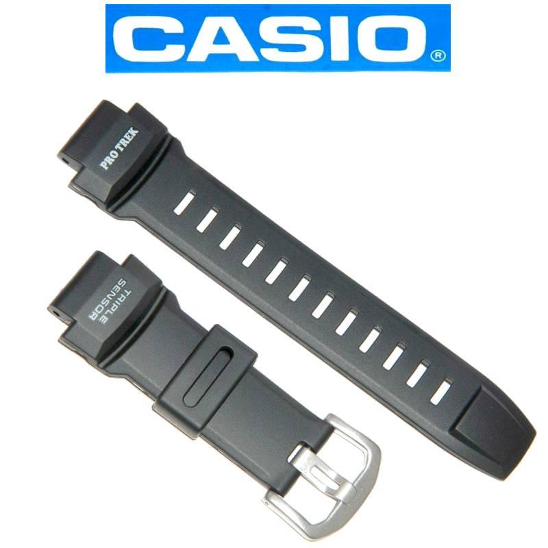 Pulseira Casio Protrek PRG-260-1, PRG-550-1A1, PRW-3500-1 *   - E-Presentes