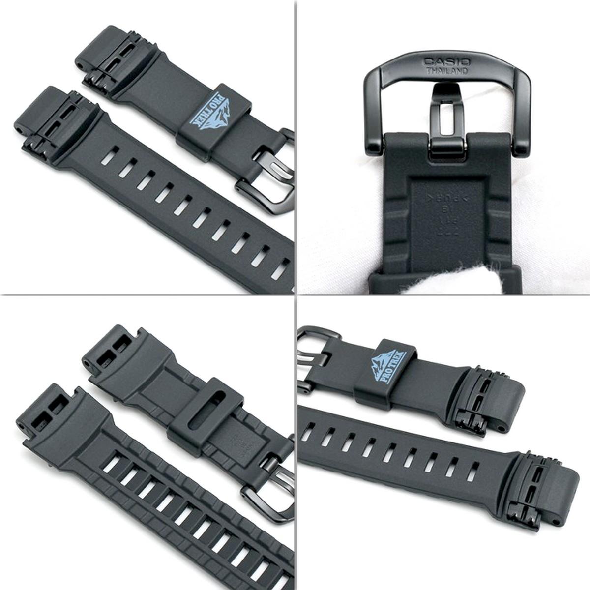 Pulseira Casio Protrek PRG-500Y PRW-2000Y-1 PRW-5000Y-1 (27/18mm) *  - E-Presentes