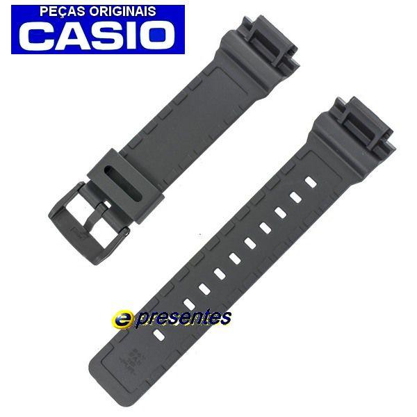 Pulseira Casio Resina Preta  AD-S800wh 1v - 100% Original  - Alexandre Venturini