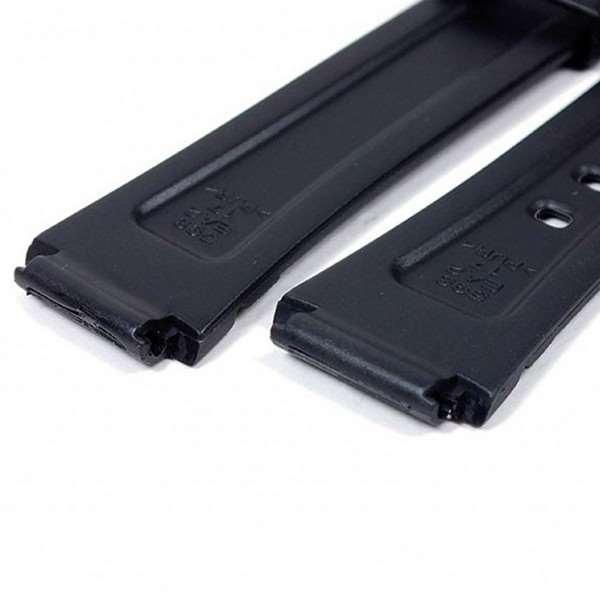 Pulseira Casio Resina Preta DB-37H -  100% Original (17mm)  - Alexandre Venturini