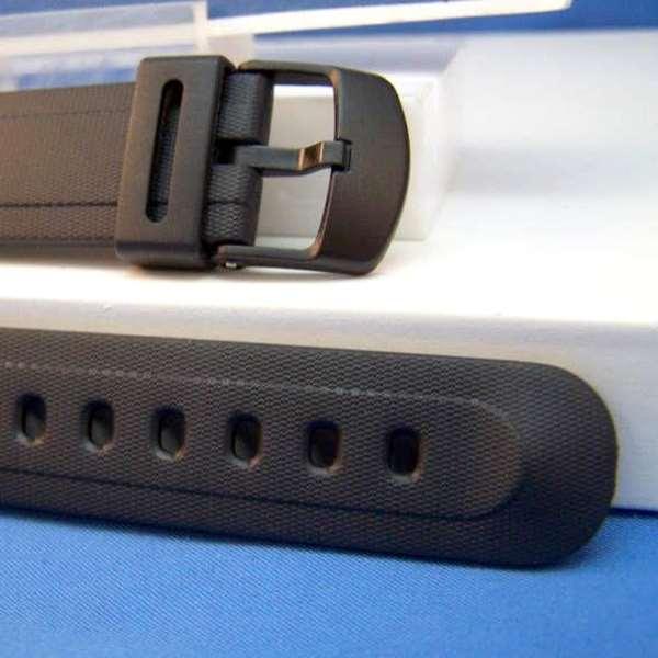 Pulseira Casio Resina Preta DB-37H -  100% Original (17mm)  - E-Presentes