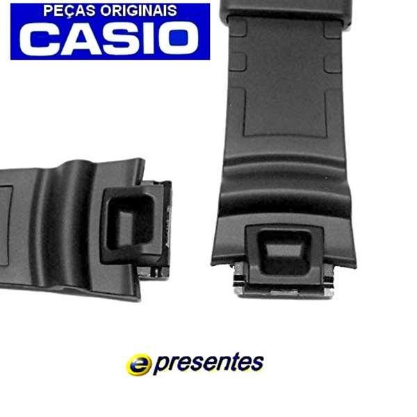 Pulseira Casio SGW-1000 Resina Preta - 100% Original  - E-Presentes
