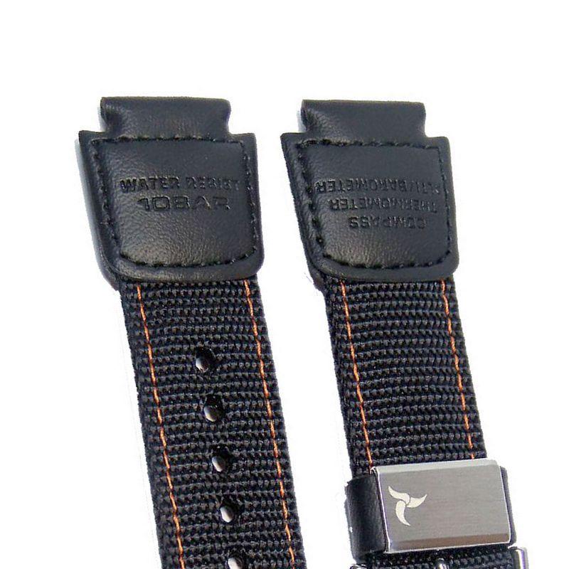 Pulseira Casio SGW-1000B Tecido Nylo / Couro (18mm)  - E-Presentes