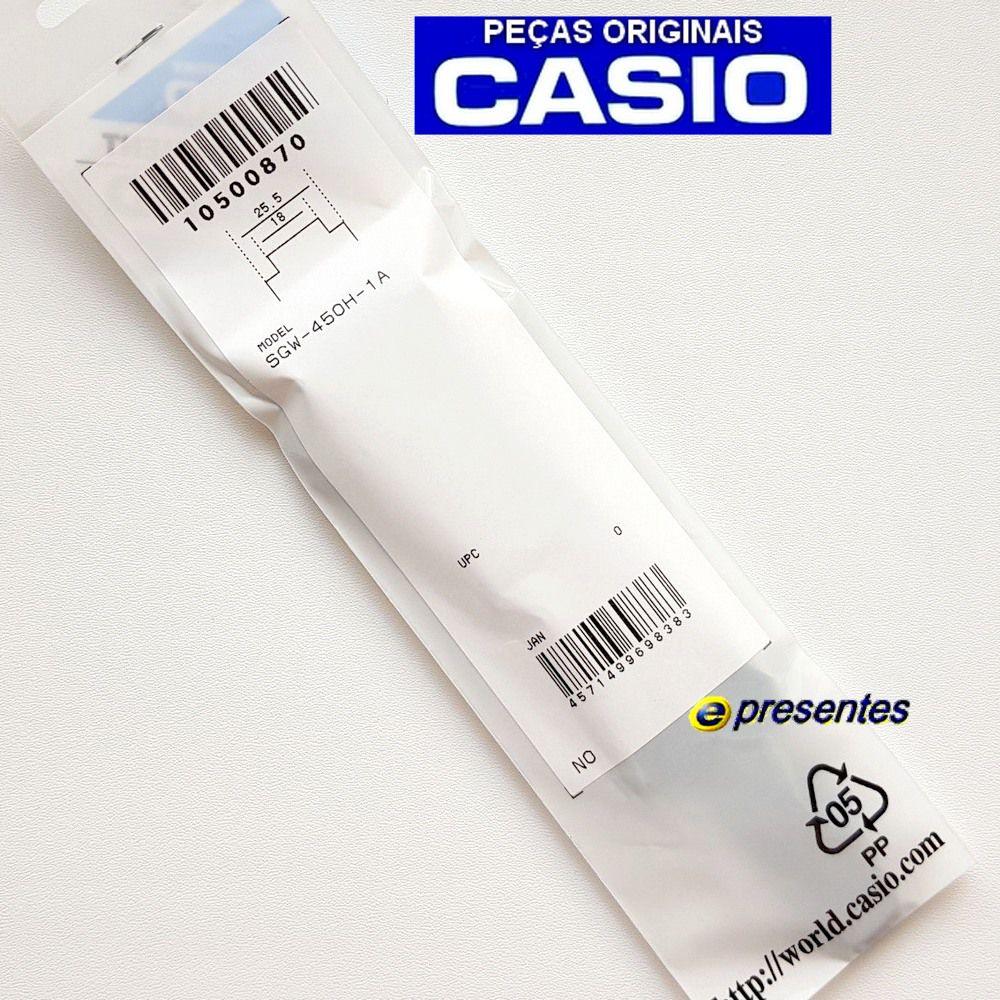 Pulseira Relogio Casio SGW-450H-1a - 100% Original   - E-Presentes