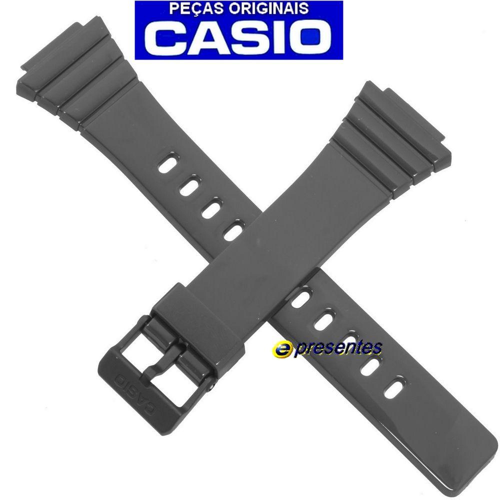 Pulseira Casio W-215H-8AV CINZA 100% Original   - E-Presentes