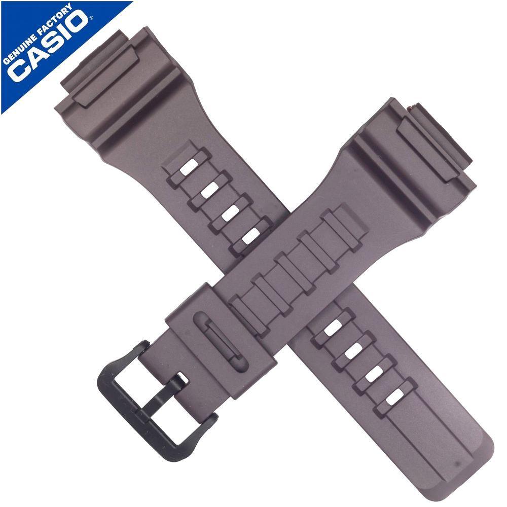 Pulseira Casio W-735H-5AV Resina Marrom - 100% Original  - E-Presentes