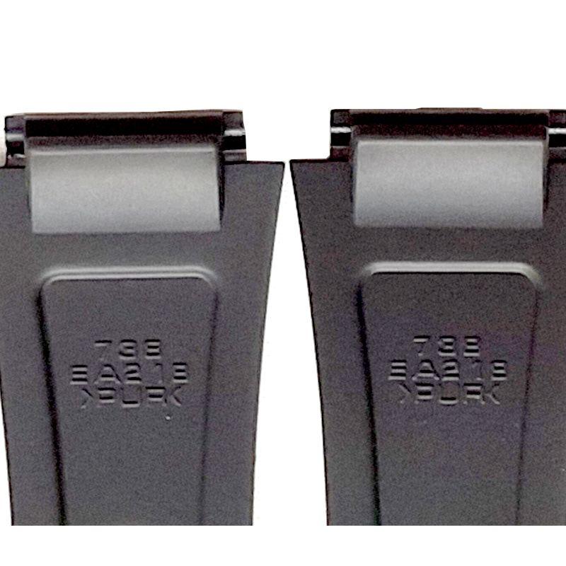 Pulseira Casio W-800h, W-800hm, W-800hg Resina Preta  - E-Presentes