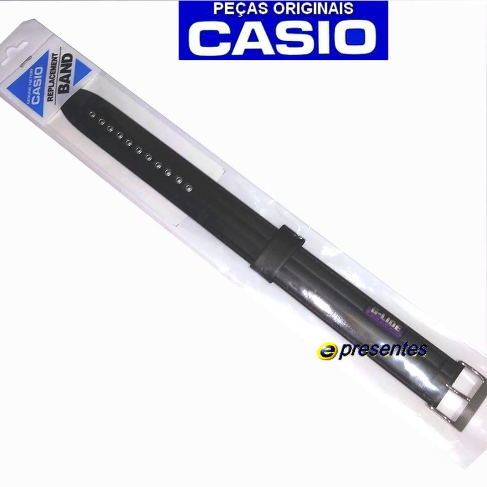 Pulseira Couro Casio G-shock GLS-5600L-1V - 100% Autêntica  - E-Presentes