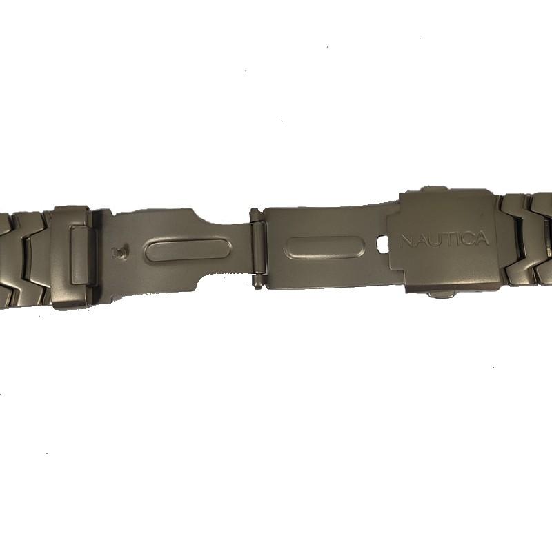 Pulseira De Aço 10mm Interno 20mm Externo Náutica 95003-1  - E-Presentes