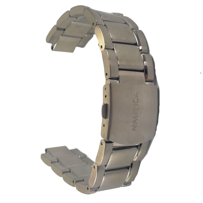 Pulseira De Aço 12mm Interno 22mm Externo Náutica 95012-2  - E-Presentes