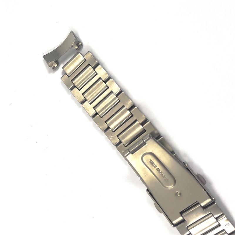 Pulseira De Aço 12mm Interno 22mm Externo Náutica 95097-7  - E-Presentes