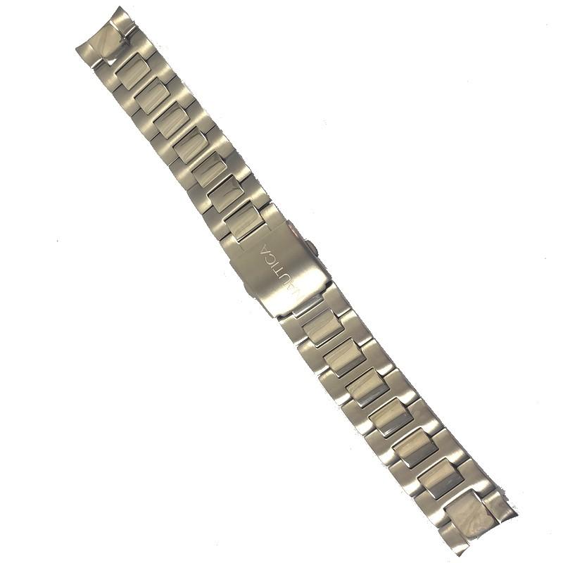 Pulseira De Aço 20mm Náutica 95069-1  - E-Presentes