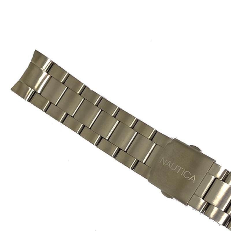 Pulseira De Aço 22mm Náutica 95090-2  - E-Presentes