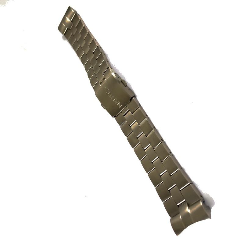 Pulseira De Aço 22mm Náutica 95146-1  - E-Presentes
