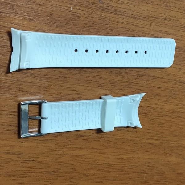 Pulseira De Resina Branca 28mm Náutica 95087-1  - E-Presentes