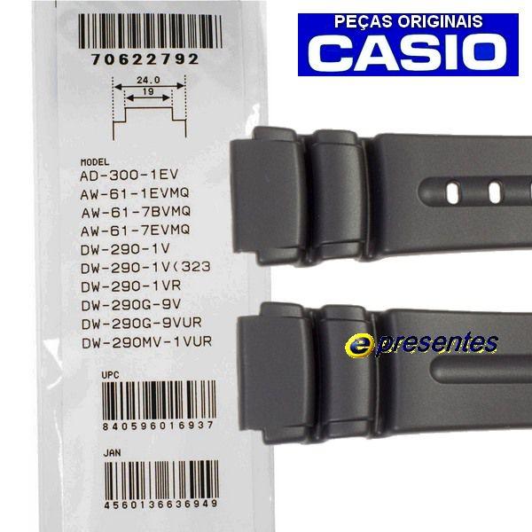 pulseira dw-5600c +  Pulseira dw-290 + 2 pares pinos retrateis  - E-Presentes