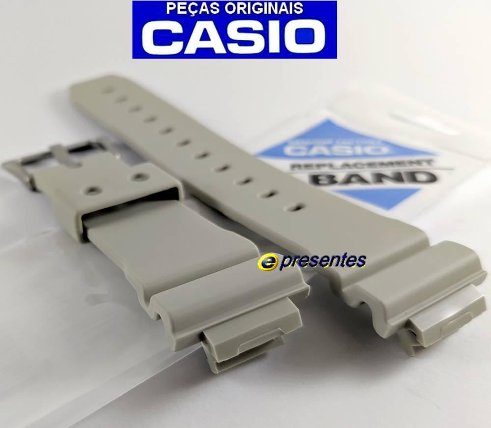 Pulseira Resina Bege Fosco DW-6900 e GW-M5610SD-8 Casio G-Shock  - E-Presentes
