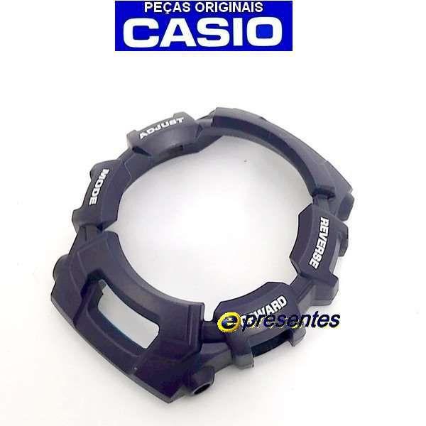 Pulseira e Bezel Azul Escuro Casio G-shock G-2110-2v Original  - E-Presentes