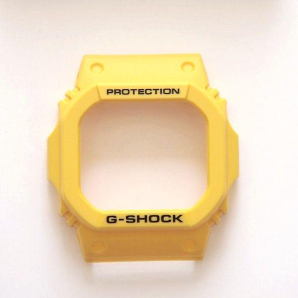 Pulseira e Bezel Capa G-shock Amarelo Dw-5600fs-9 DW-5600P-9   - E-Presentes