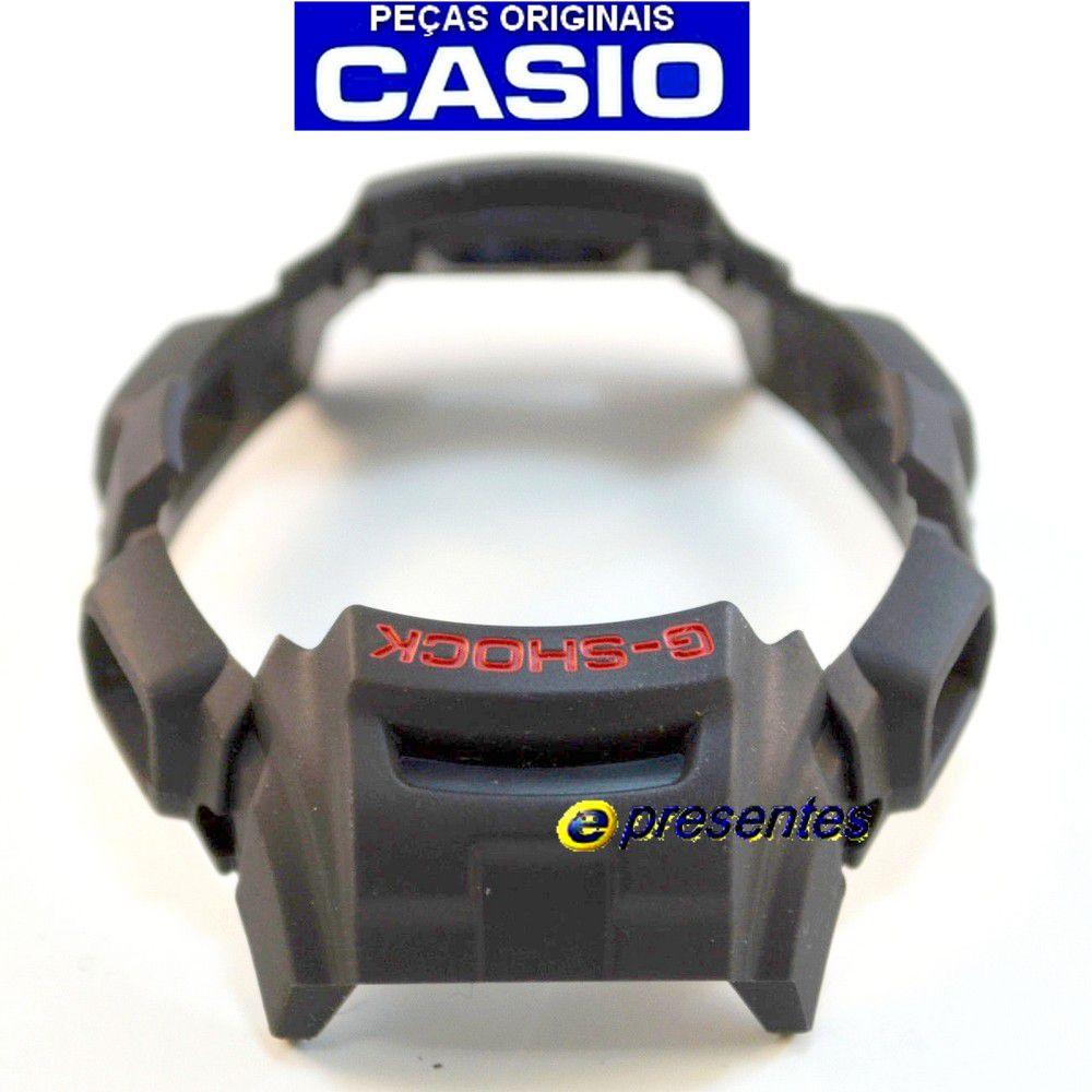 Pulseira e Bezel Capa Gw-300 GW-301 Preto Casio G-shock - 100%  Original  - E-Presentes