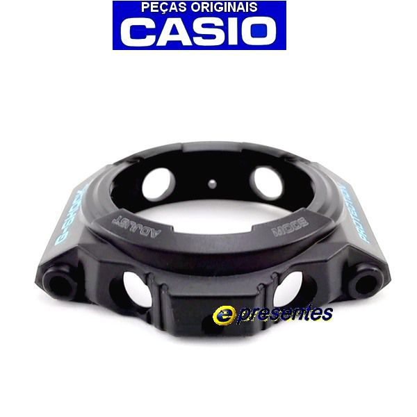 Pulseira e Bezel GA-300BA-1 Casio G-shock Preto Semi Brilhante   - E-Presentes