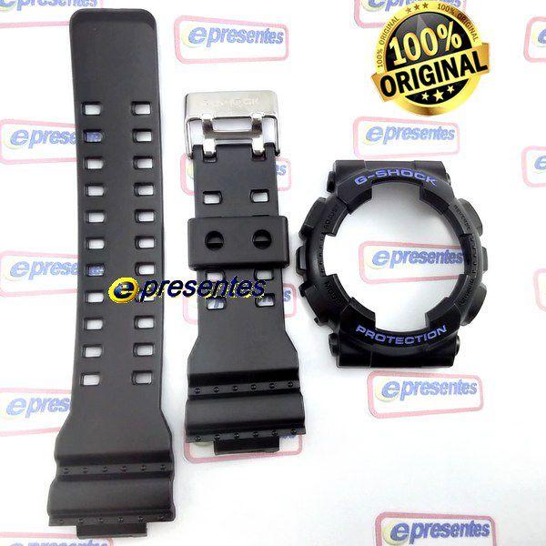 Pulseira e Bezel GD-120N-1B2 Casio G-shock Semi Brilhante  - E-Presentes