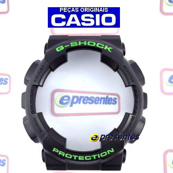Pulseira e Bezel GD-120N-1B3 Casio G-shock Semi Brilhante  - E-Presentes