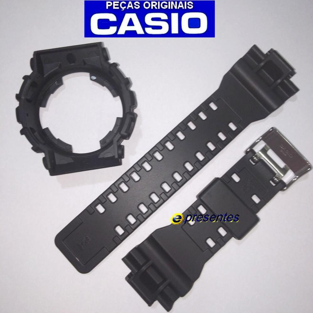 Pulseira e Bezel GD-120N-1B4 Casio G-shock Semi Brilhante   - E-Presentes