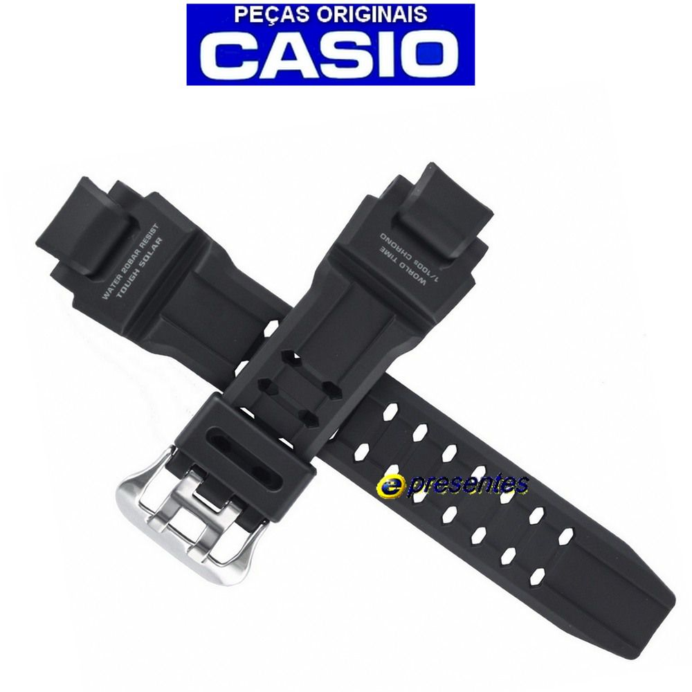 Pulseira G-1400-1a Casio G-shock - 100% Original   - E-Presentes