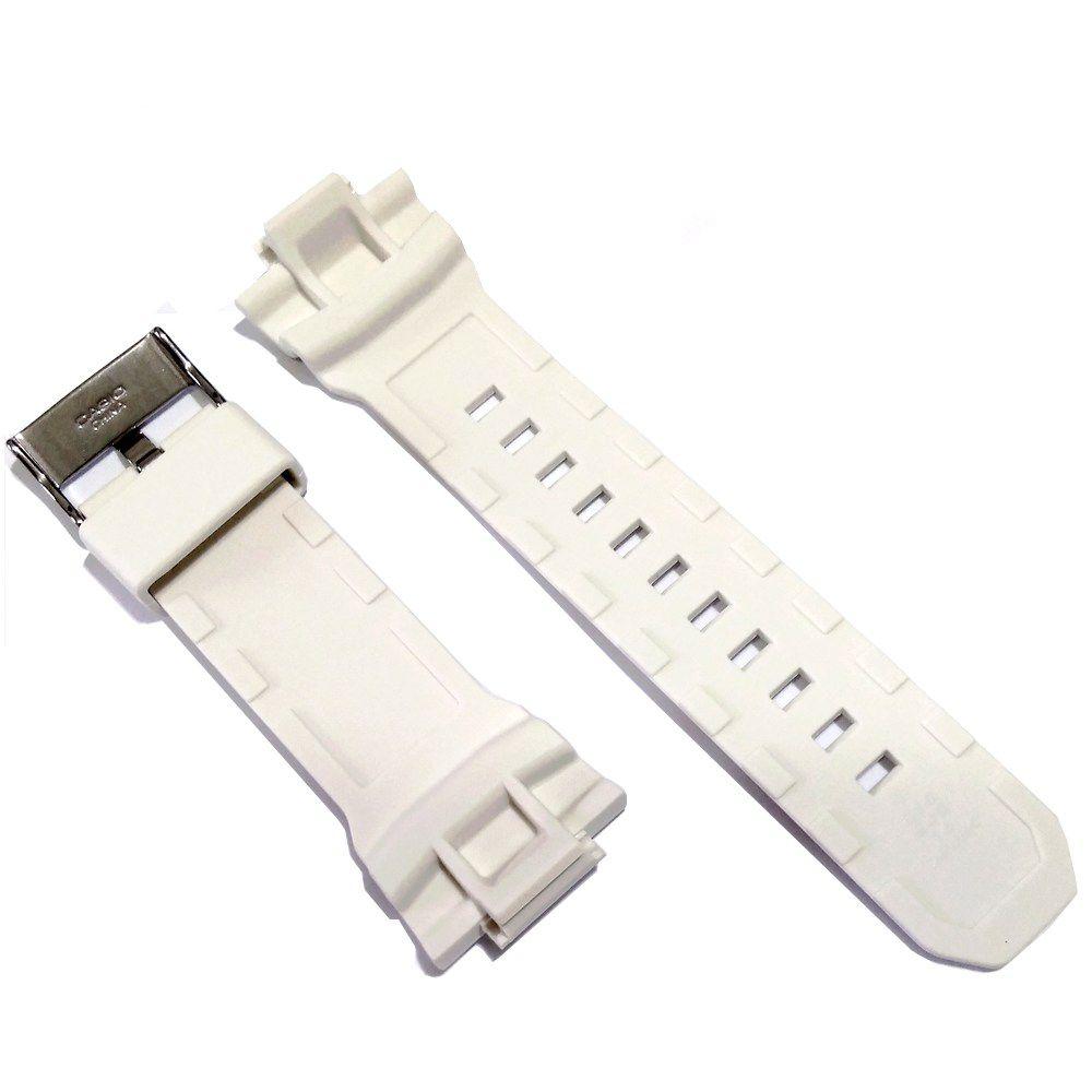 Pulseira GA-150-7A Casio G-shock Branco Fosco  - E-Presentes