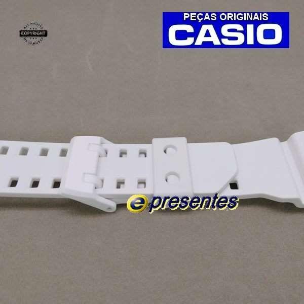 Pulseira GAX-100A 7A G-LIDE Casio G-shock Branco Fosco - 100% Original  - E-Presentes