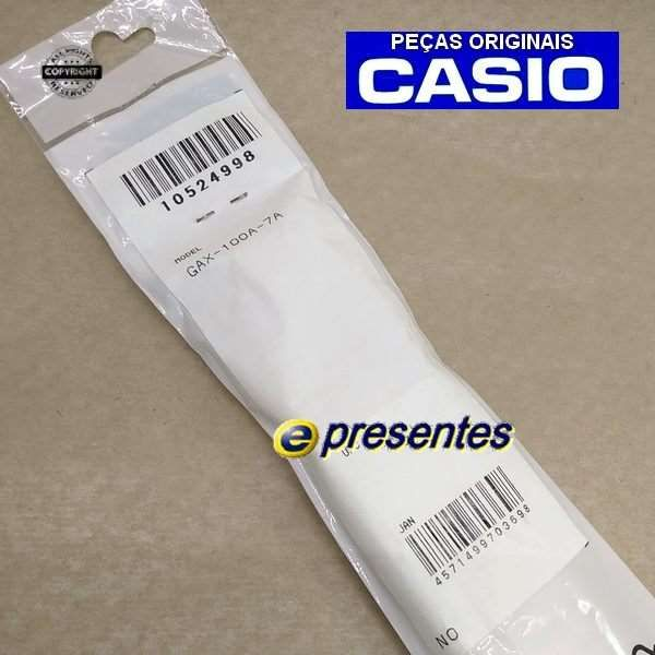 Pulseira GAX-100A 7A G-LIDE Casio G-shock Branco Fosco - 100% Original  - Alexandre Venturini