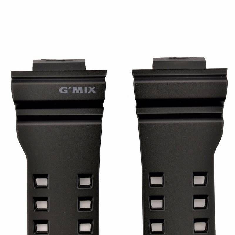 Pulseira GBA-400-1A Preto Semi Brilhante Casio G-shock Mix   - E-Presentes