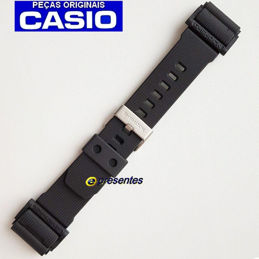 Pulseira GD-400-1B2, GD-400MB-1 Casio G-Shock Preto Fosco - Peça 100% Original  - E-Presentes