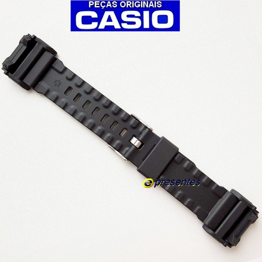 Pulseira GD-400-1B2, GD-400MB-1 Casio G-Shock Preto Fosco - Peça 100% Original -  - E-Presentes